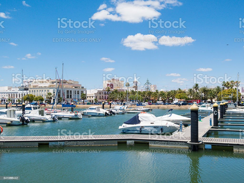 Ayamonte Marina, Harbour, Andalucia, Spain. stock photo