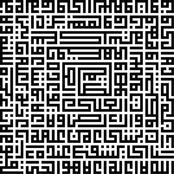 Ayatul Kursiy Kufic - Photo
