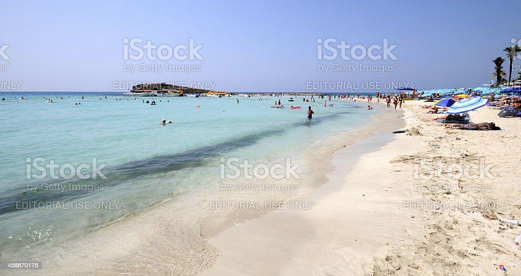 Ayia Napa beach , Cyprus stock photo
