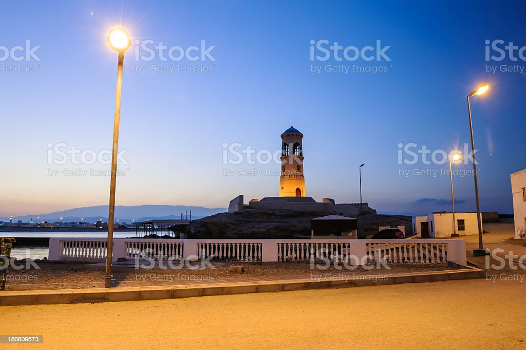 Ayjah Lighthouse royalty-free stock photo