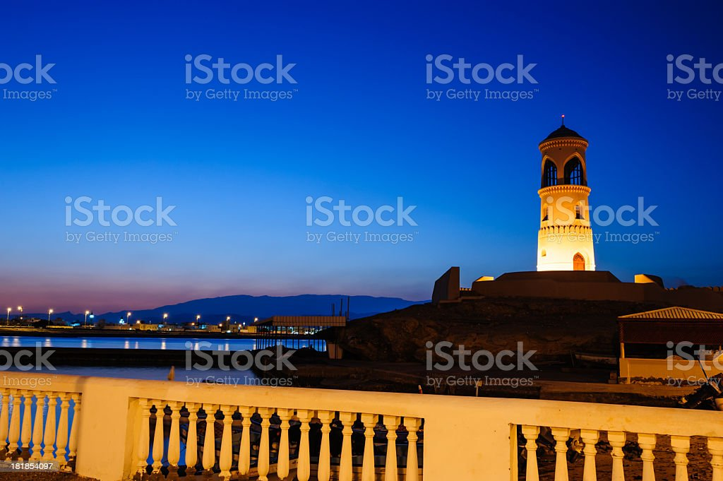 Ayjah Lighthouse stock photo