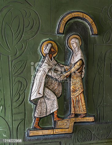 Saint Joachim and Saint Anna - parents of Mary, mother of God