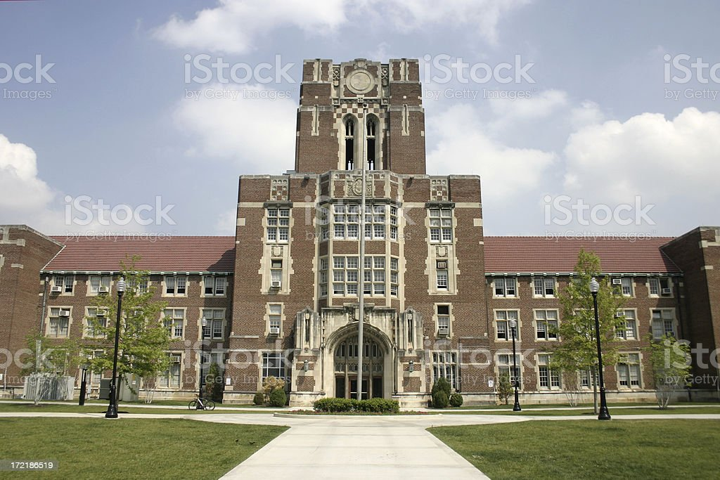Ayres Hall - University of Tennessee royalty-free stock photo