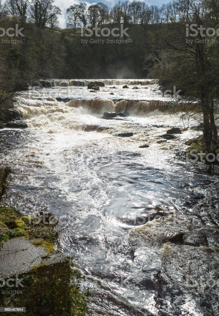 Aysgarth Falls - North Yorkshire stock photo