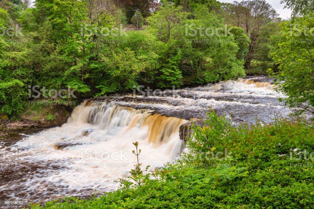 Aysgarth Middle Falls stock photo