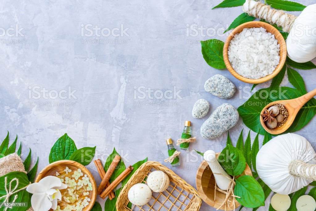 Ayurveda Background Spa And Health Care Concept Stock Photo Download Image Now Istock