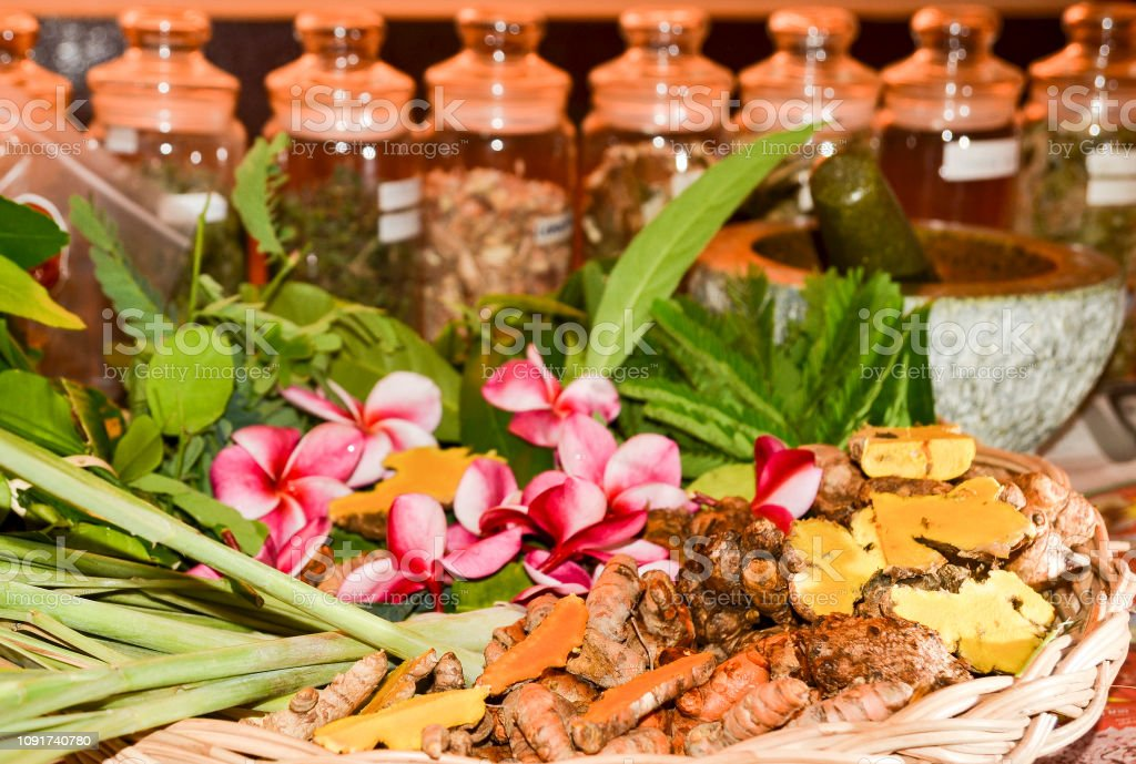 Ayurveda Herbs And Roots For Treatment Stock Photo Download Image Now Istock