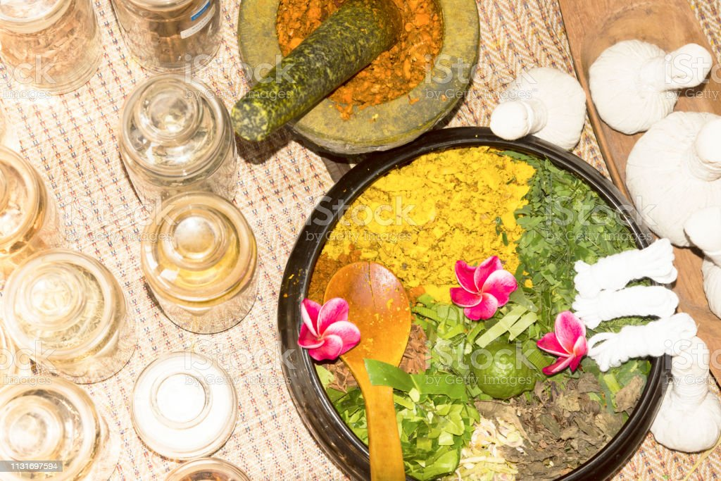 Ayurvedic Medicine Indian Traditional Herbal Therapy Stock Photo Download Image Now Istock