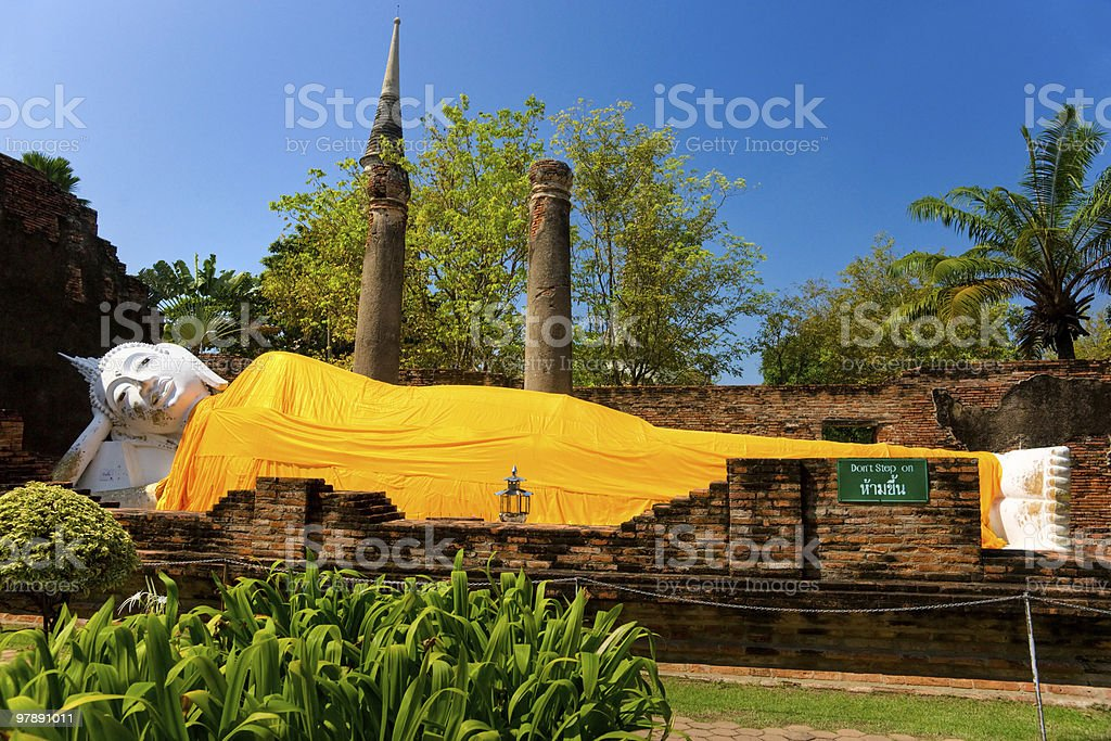 Ayuthaya, Thailand. stock photo