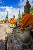 Thailand, Ayuthaya, Asia, Temple - Building, Ancient