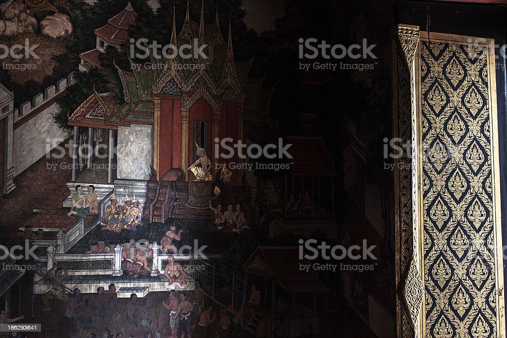 Ayutthaya royalty-free stock photo