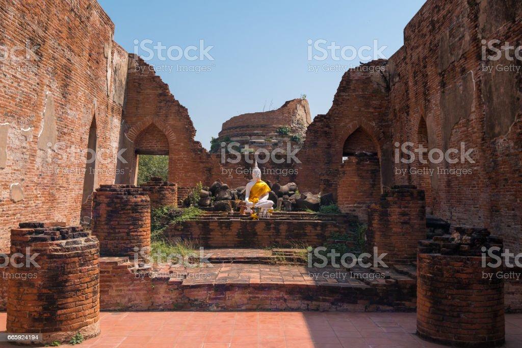 Ayutthaya foto stock royalty-free