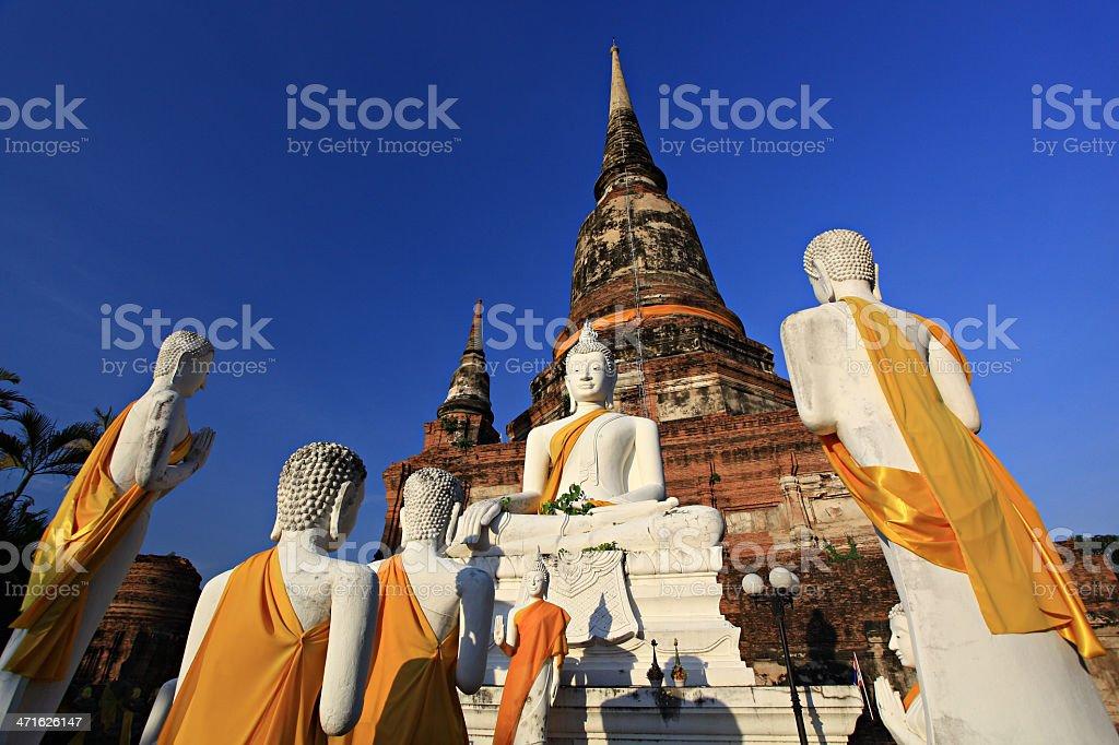 Ayutthaya Thailand royalty-free stock photo