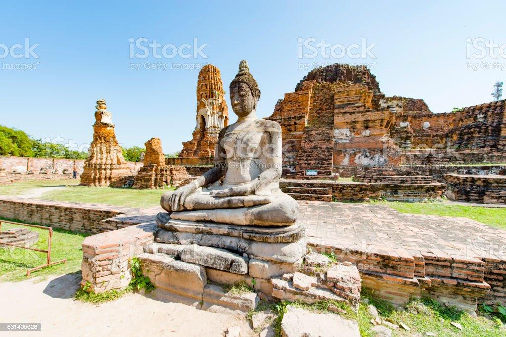 Ayutthaya Thailand stock photo