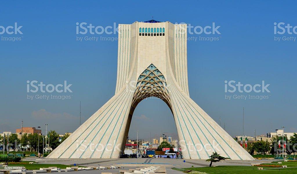 Azadi Tower, Tehran / Iran Royalty Free Stock Photo
