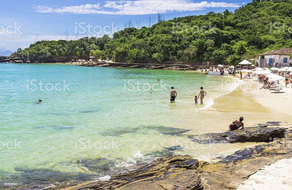 Azeda Beach in Buzios, Rio de Janeiro stock photo