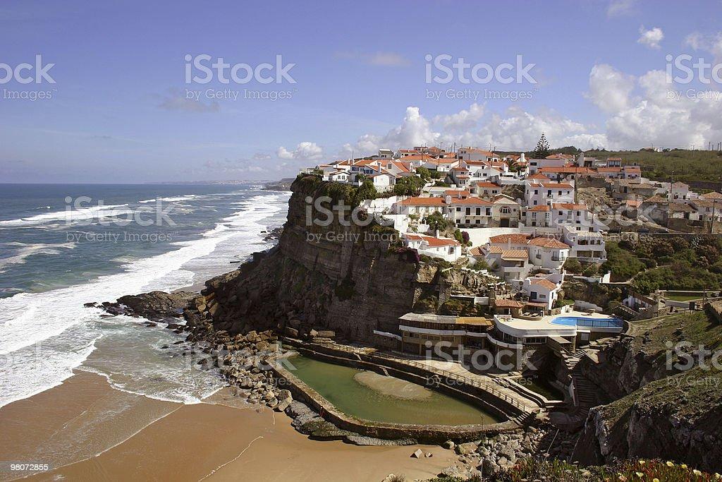 Azenhas do Mar royalty-free stock photo