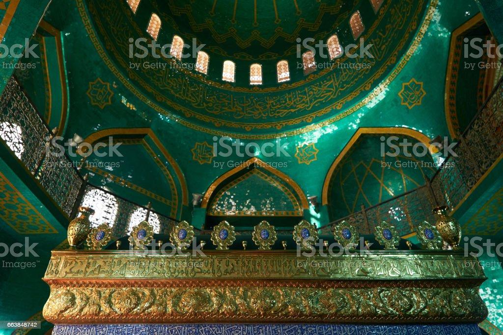 Azerbaijan, Baku - 22 March 2017, Bibiheybat  Mosque in Islamic republic stock photo