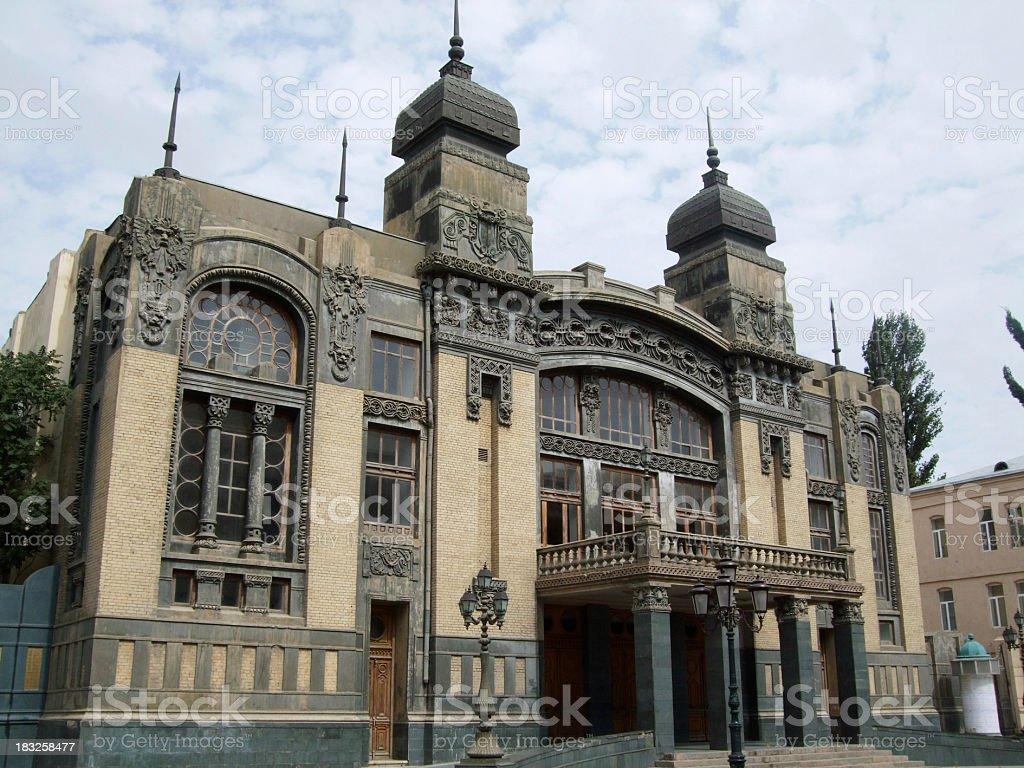 Azerbaijan State Academic Opera and Ballet Theatre stock photo