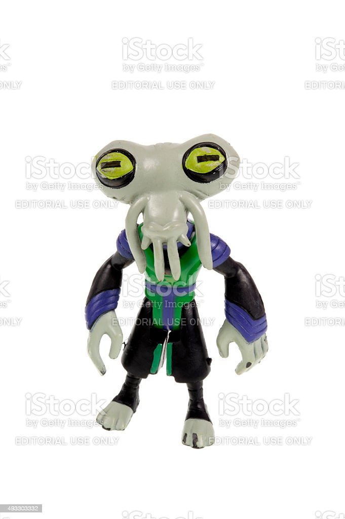 Azmuth Ben 10 Action Figure Stock Photo - Download Image Now - iStock
