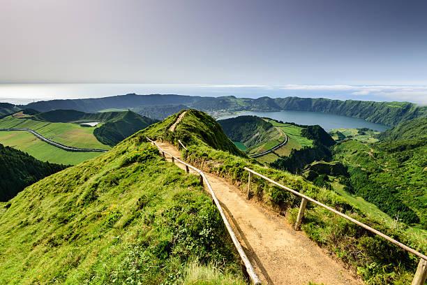 Azores magic lagoon landscape – Foto