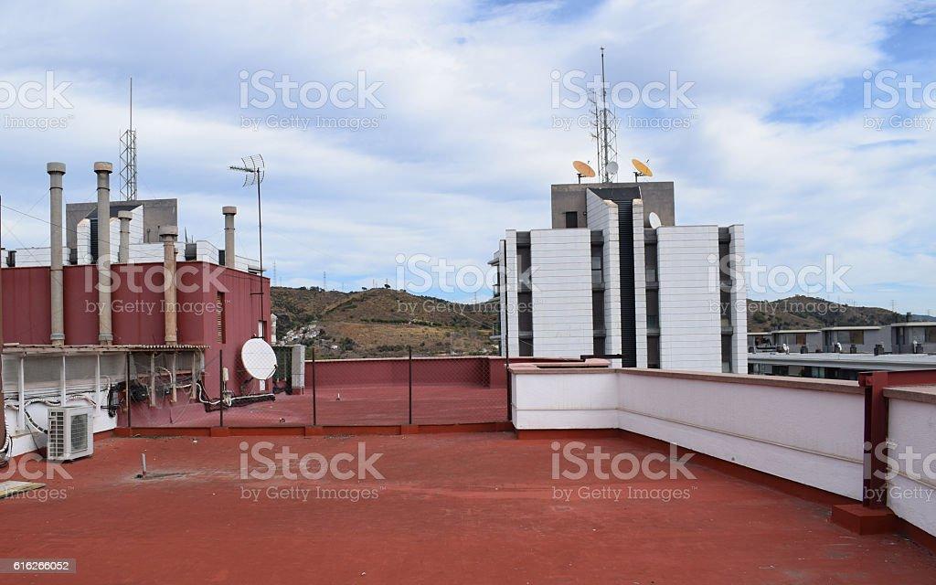 Azoteas Terrazas Terrados Edificios Antenas Tejados Solarium