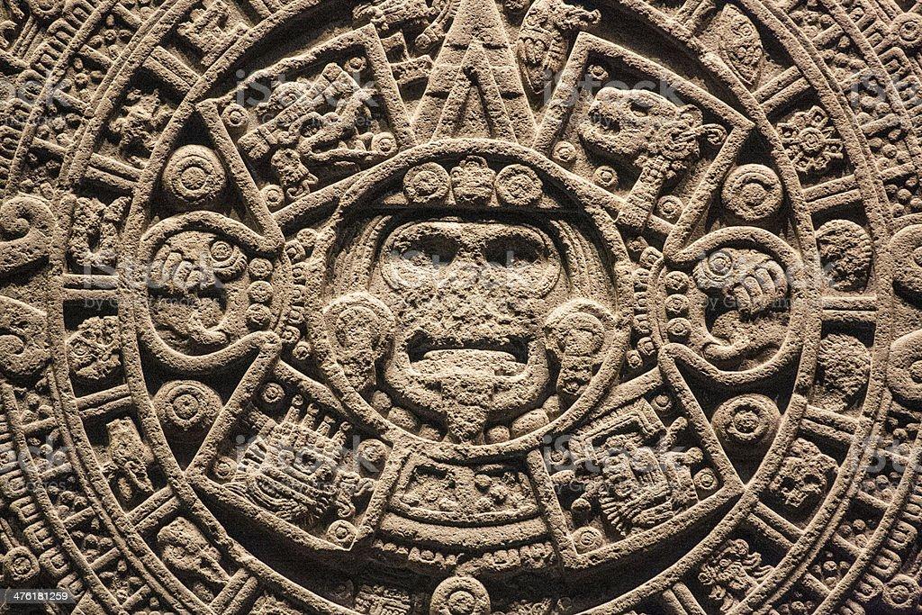 Aztec and Maya stock photo