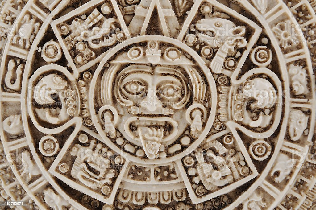 Aztec Calendar Stone.Aztec Calendar Stone Of The Sun Mexico Stock Photo Download Image