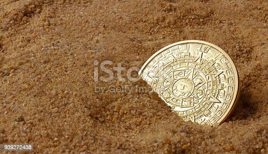 istock Aztec coin. 939272438