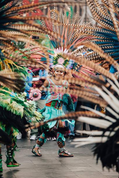 Aztekische Tänze, Mexiko-Stadt – Foto