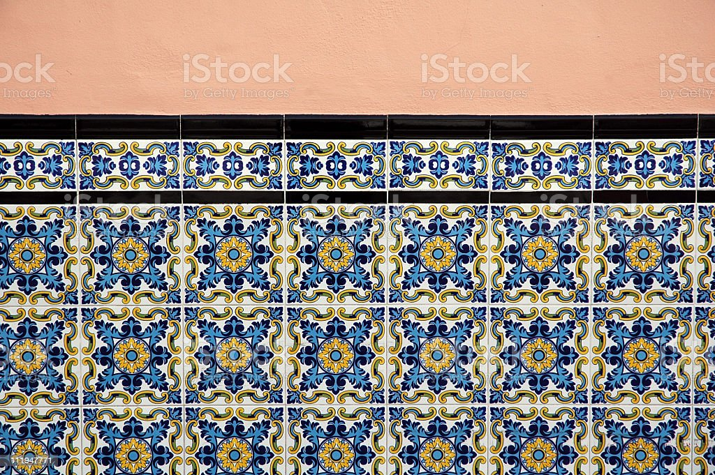 Azulejos royalty-free stock photo