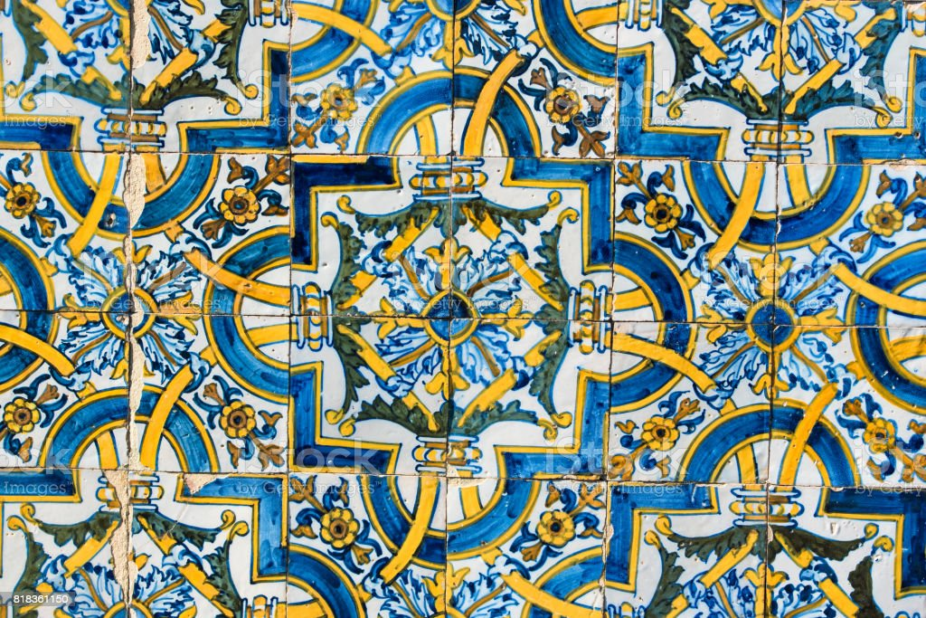 Azulejos, Portugal stock photo