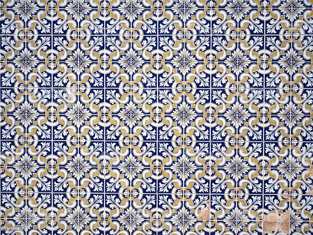 Photo de azulejos fond de texture de carreaux portugais for Carrelage portugais