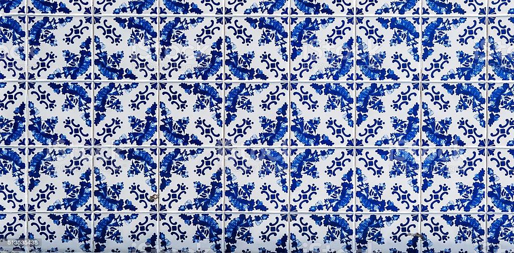 Azulejos, ladrilhos tradicional Portuguesa - fotografia de stock