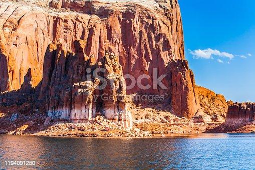 istock Azure water of Lake Powell 1194091250