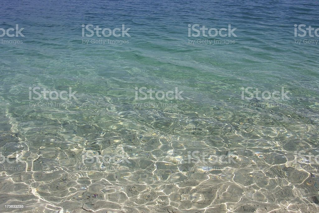Azure water royalty-free stock photo