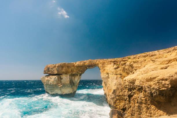 Azure Insel Fenster Gozo, Malta – Foto