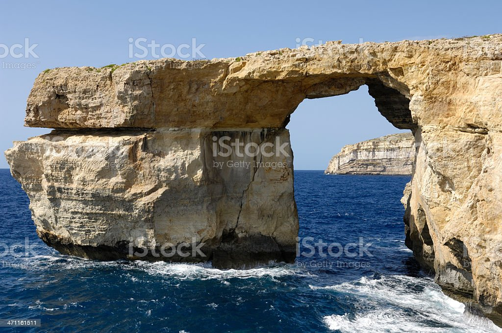 Azure Window Gozo Malta royalty-free stock photo