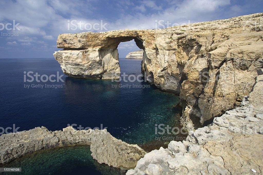 Azure Window, Gozo stock photo
