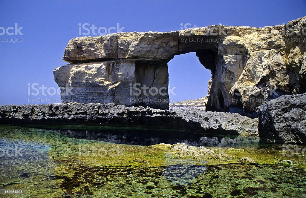 Azure Window, Gozo royalty-free stock photo