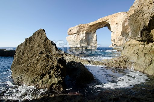 Azure Window Stock Photo & More Pictures of Awe