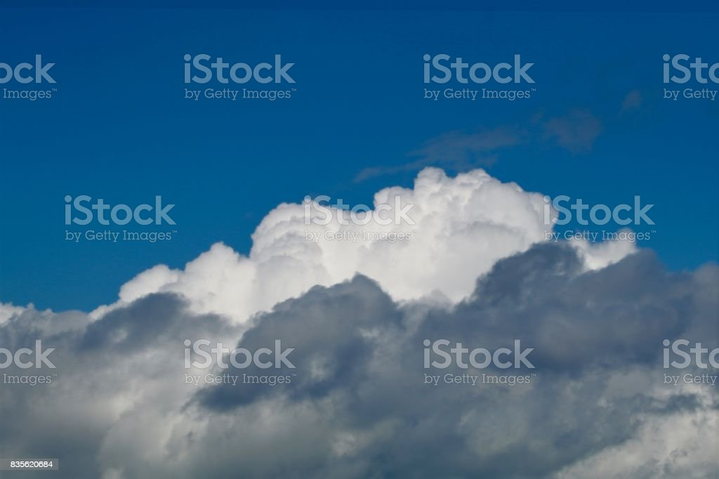 Azure with cumulus stock photo