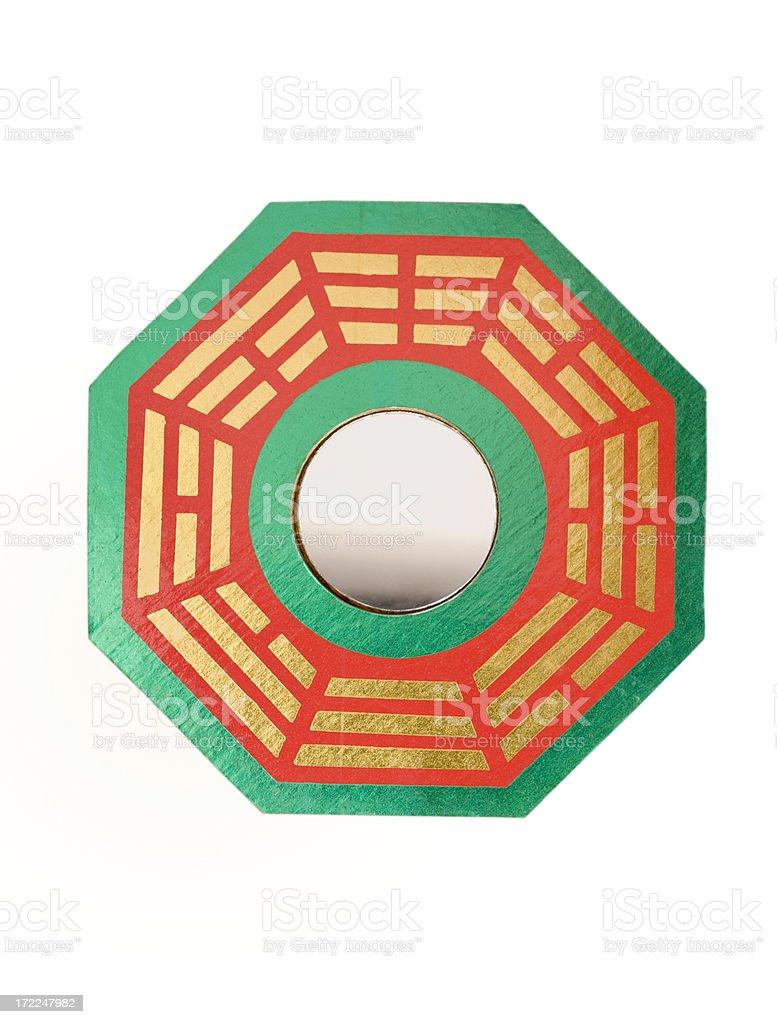 Ba Gua Feng Shui Mirror stock photo