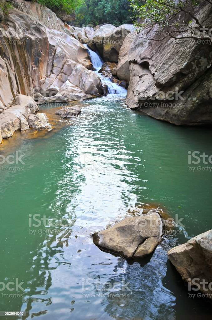 Ba Ho Lake Stream, Nha Trang, Viet Nam royalty-free stock photo