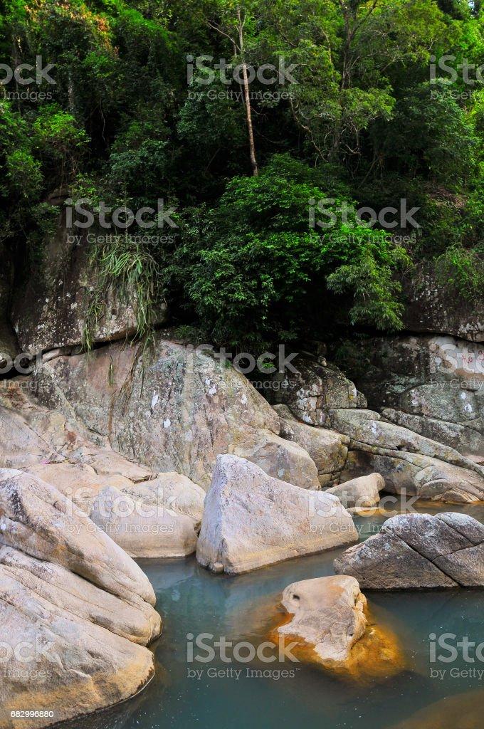 Ba Ho Lake Stream, Nha Trang, Viet Nam royalty-free stock photo