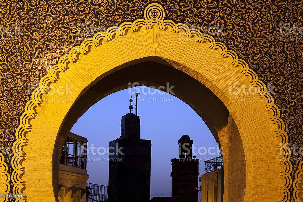Bab Boujeloud, Fes, Marokko – Foto