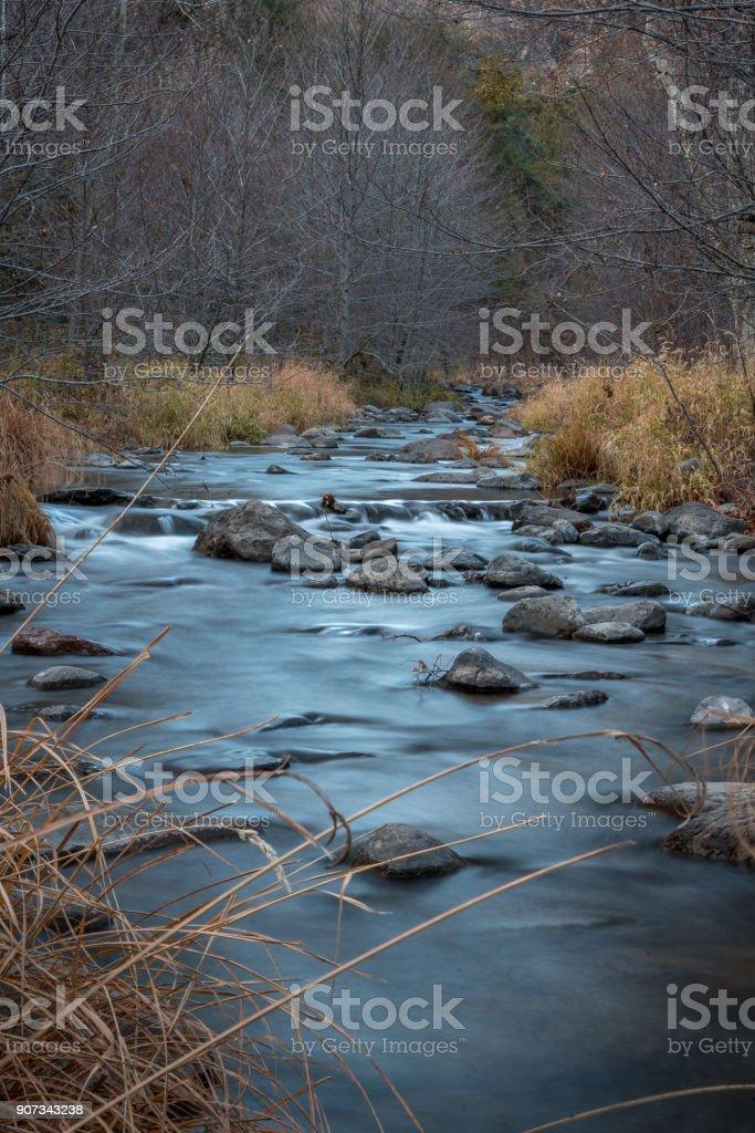 Babbling Creeks stock photo