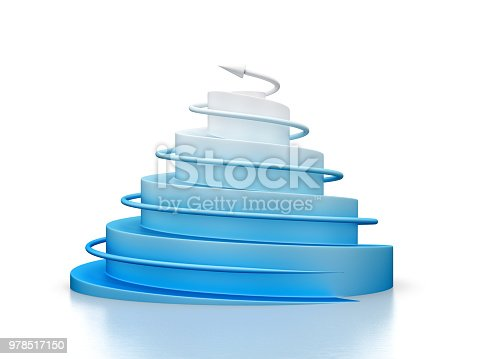 istock Babel tower graph 978517150