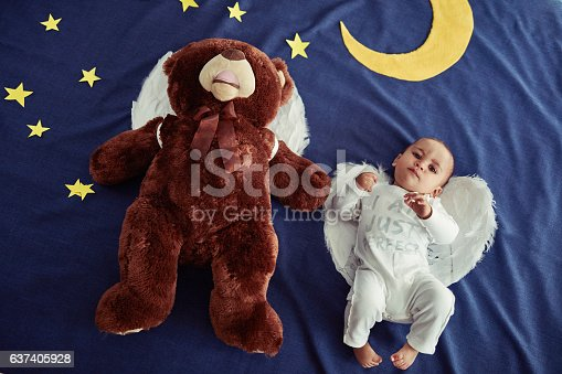istock Babies are angels sent from heaven 637405928