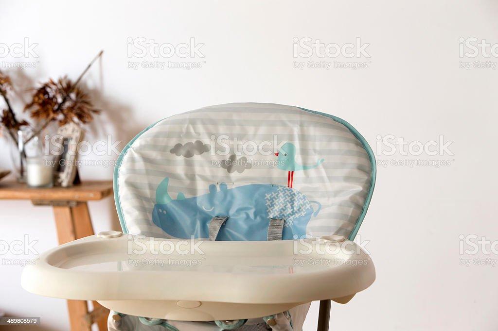 Babies Highchair stock photo